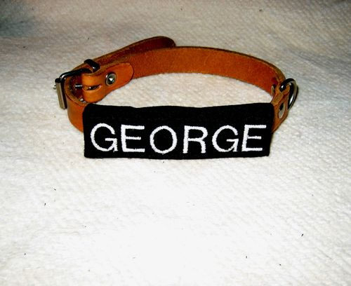 Gestickter Name GEORGE